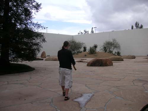 Photos from the Isamu Noguchi Garden in Costa Mesa, CA